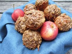 Carrot Apple Nut Muffins | OAMC from Once A Month Meals