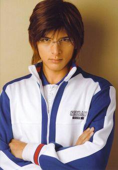 Shirota Yu playing Tezuka Kunimitsu