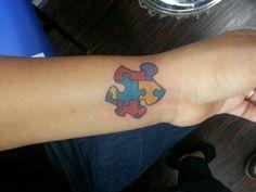 Autism puzzle piece♥