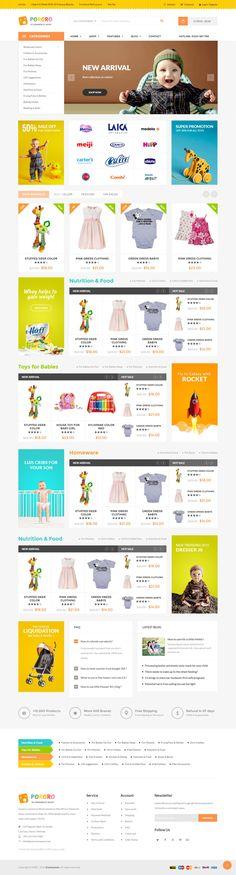 Ri Quartz - Responsive Multipurpose WooCommerce Theme Demo #kids #shop #themes