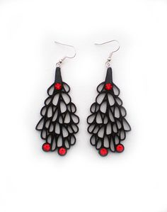Earrings contemporary jewelry design limited edition by DecoUno