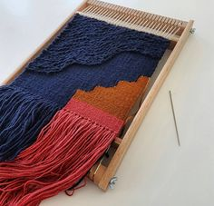 ~Coming off the loom~ . . . .