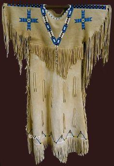 Native American (Plains Indian) Women's Dresses