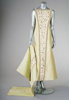 A Pierre Balmain couture `Mazurka ball gown, 1966