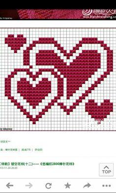Valentines dish cloth, knitting pattern – Molly Book – Willkommen bei Pin World Knitting Charts, Knitting Stitches, Knitting Patterns, Cross Stitch Designs, Cross Stitch Patterns, Cross Stitching, Cross Stitch Embroidery, Knit Dishcloth, Cross Stitch Heart