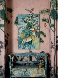 Hand-Painted Furniture Designs Are the New Fine Art | Architectural Digest