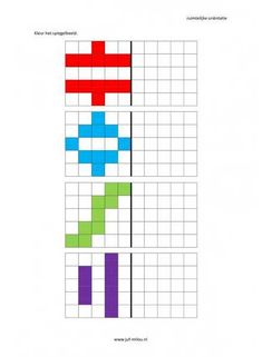 Dit werkblad en nog veel meer in de categorie ruimtelijke orientatie - nakleuren kun je downloaden op de website van Juf Milou.