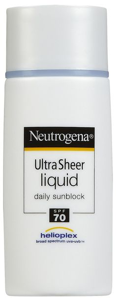 Neutrogena Ultra Sheer Sunblock Liquid SPF 70 - Best Price