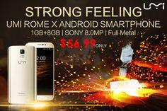 MAHIR-IT: UMi ROME X 3G Smartphone 1GB+8GB Android Mobile Ph...