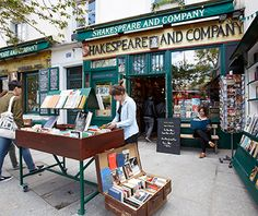 ★ Shakespeare and Co., Paris Gertrude Stein, Ernest Hemingway, and their literary contemporaries famously hung out at this Left Bank bookstore overlooking the Seine (it's referenced in Woody Allen's Midnight in Paris) ★