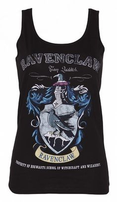 Ladies Black Harry Potter Ravenclaw Team Quidditch Vest : Main