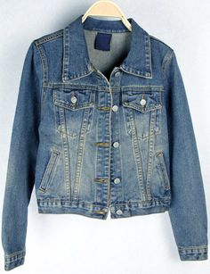 Best fashion just in, Fashionable Singl... is available now, click the link http://modatendone.co.uk/products/fashionable-single-breasted-polo-collar-long-sleeve-denim-jacket-blue?utm_campaign=social_autopilot&utm_source=pin&utm_medium=pin don't miss out our amazing collections!
