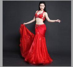 luxury belly dance clothes Swarovski bra top+skirt belly dance suit for women  belly dance Professional set girls dance set 07ad8d7d9146