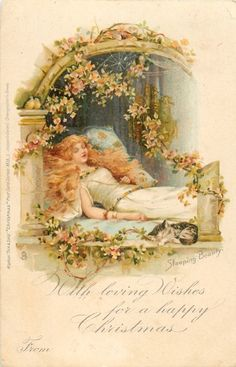 SLEEPING BEAUTY, WITH LOVING WISHES FOR A HAPPY CHRISTMAS