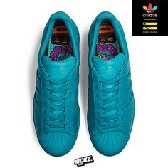 new concept 8d5e9 a735a Adidas Superstar Supercolor by Pharrell Williams. 1 of 11 unique monochrome  colorways dropping at Kickz.com on 27th March 2015.