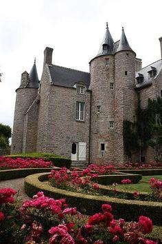 Château de Bienassis, Erquy, Côtes d'Armor, Bretagne, France