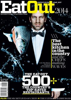 A brand new cover for the 2014 Eat Out magazine | News | Eat Out