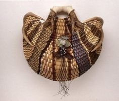 Gorgeous antler basket by Cathryn Peters