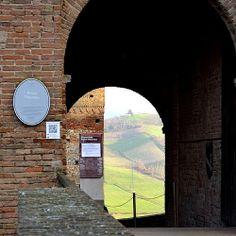 @silvietta__sd Ingresso della Rocca Viscontea | InstaTER #myER_dolcevita @ Castell'Arquato