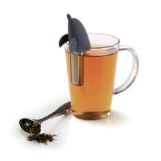dolphin tea infuser charcoal