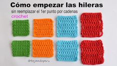 How to crochet with better edges without replacing the stitch with chains - Crochet Waffle Stitch, Crochet Shell Stitch, Crochet Stitches, Crochet Patterns, Crochet Mug Cozy, Crochet 101, Crochet Videos, Braidless Crochet, Crochet Doilies