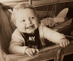 Today's is a sweet one for me, I finally got a picture of my baby boy having a jolly, hearty laugh and the reason for this gidd. Number 19, Project 365, Laughing, Daddy, Baby Boy, Bird, Projects, Pictures, Lanzarote