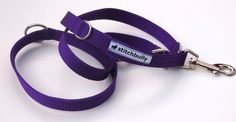 Hund: Leinen - Sonstige - Sportline von stitchbully - Hunde Leine uni lila - ein…