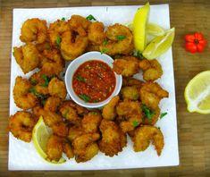 Caribbean Style Popcorn Shrimp Recipe!