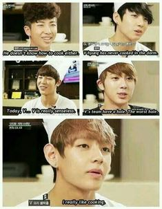 I can't stop laughing xD It's okay V, I still love you <3