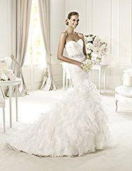 Pronovias ti presenta l'abito da sposa Usia. Glamour 2013. | Pronovias