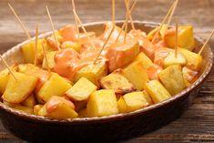 Paella, Tapas, Mexican Food Recipes, Ethnic Recipes, Spanish Food, Canapes, Jamie Oliver, Gnocchi, Fruit Salad