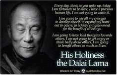 Buddhistdoor Global—Your Doorway to the World of for Today: His Holiness the Dalai Lama 14th Dalai Lama, Buddhist Quotes, Kindness Quotes, Tibetan Buddhism, Sign Quotes, True Religion, Self Help, Compassion, Spirituality