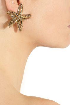 YSL starfish earrings #iwant OMG