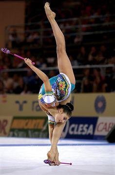 Alina Kabaeva (Russia), World Championships (Madrid (2001)