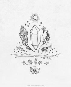 Earth Totem | Design by Rachel of Bohemian Redwolf & Aniya Jade Studio