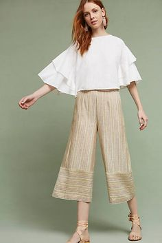 Shona Wide-Leg Trousers