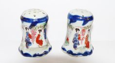 Vintage Salt and Pepper or Cruet in Imari by KitschandCollectable, £5.00