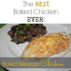 Baked Mexican Chicken Recipe – Coated in Crushed Tortilla Chips!