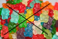 Please Teach Children about the dangers of soft candy  They contains Gelatin , chemical colorants and so many additive