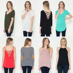 New styles from $22-$24.