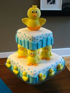 This would be such a cute cake for a 2 year old.