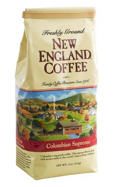 New England Coffee - Ground - Columbian Supremo 11oz (Pack of 2) >>> Visit the image link more details.