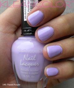 kleancolor pastel purple