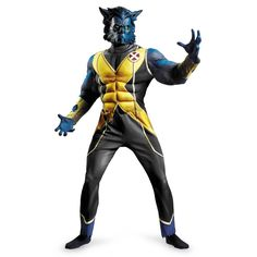 XMen First Class Beast costume  from BuyCostumes.com #XMEN #Costume