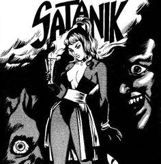 Fumetti di Carta: Satanik!