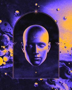 Solace - Malavida x aeforia Art Print by alexyprefontaine Arte Sci Fi, Sci Fi Art, Graphic Design Posters, Graphic Design Inspiration, Arte Indie, New Retro Wave, Psy Art, Tattoo Graphic, Interstellar