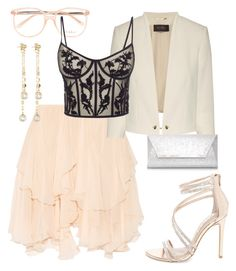 """""""Untitled #4"""" by satamo-e on Polyvore featuring Chloé, Alexander McQueen, Steve Madden, Dorothy Perkins and Fragments"""