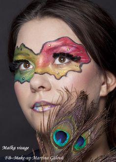 Extreme  Make up and hair: Maťka Gálová  Fotograf: Norber Eggenhofer