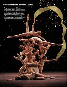 New York City Ballet Dance Brochure by Farhana Haque, via Behance