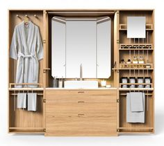 La Cabine: A hidden bathroom from Line Art | Despoke